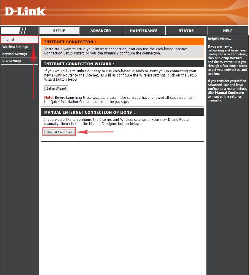 Инструкция по установки роутер d link dir 615